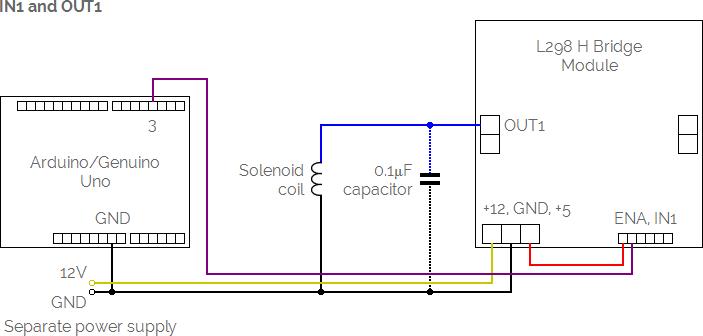 solenoid circuit diagram